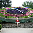 Kentucky Floral Clock