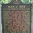 Man o' War Historical Marker