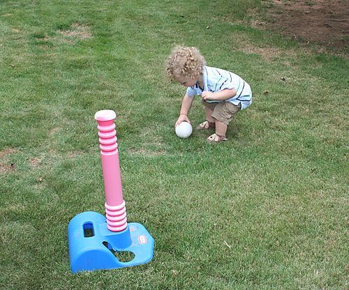 Picking up ball