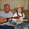 Olivia & her Granddad
