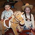Isaac Cowboy & Cowgirl Olivia