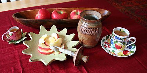 Rosh hashana tea
