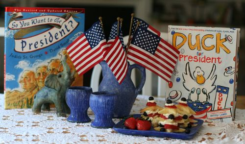 Election day tea table