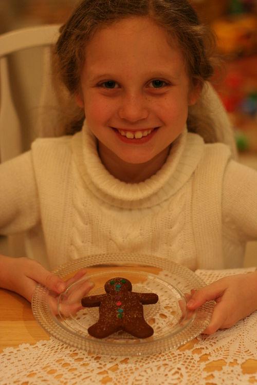 Gingerbread man tea 041