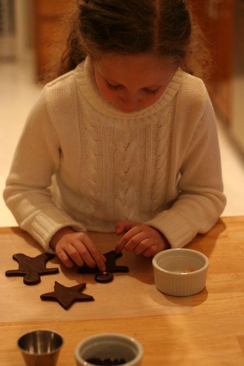 Gingerbread man tea 017