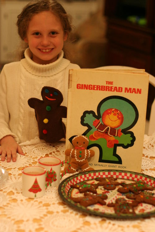 Gingerbread man tea 040