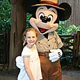 Olivia and Mickey Mouse