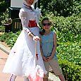 Olivia and Mary Poppins
