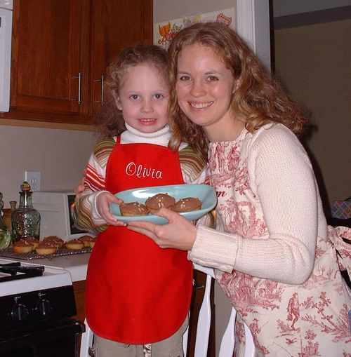 Groundhog cupcakes 2006