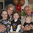 Grandddad, Grandma, Olivia, Isaac, & Joshua