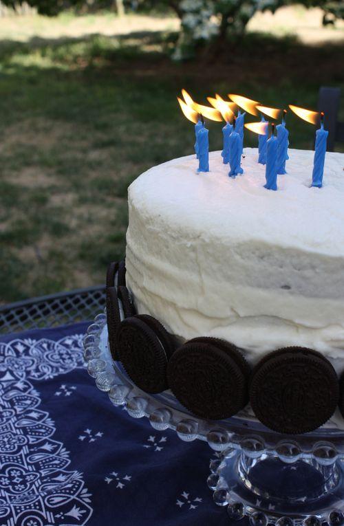 Michael's B-day cake