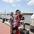 Standing in front of the Savannah River