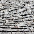 Cobblestone walk in Savannah, GA