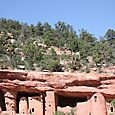 Cliff dwelling and cliff
