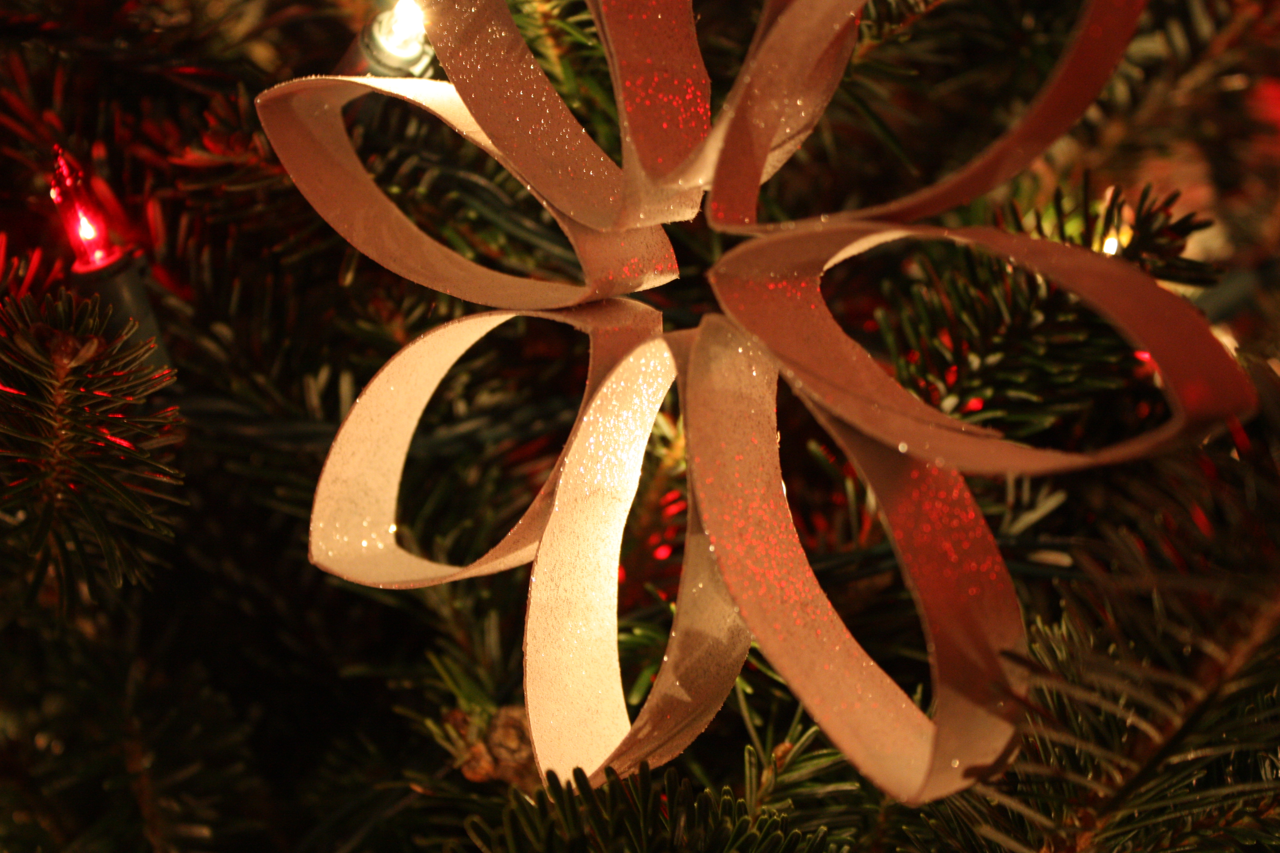Chasing Fireflies Snowflake Ornaments
