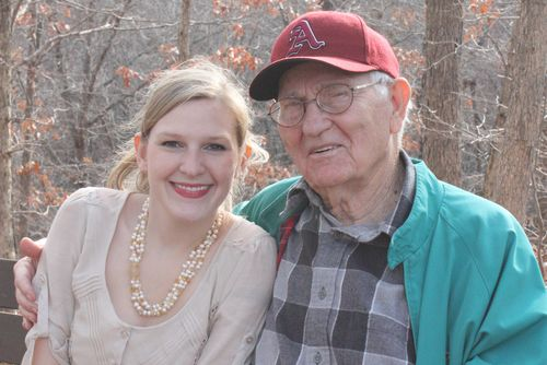 Lacey and granddad
