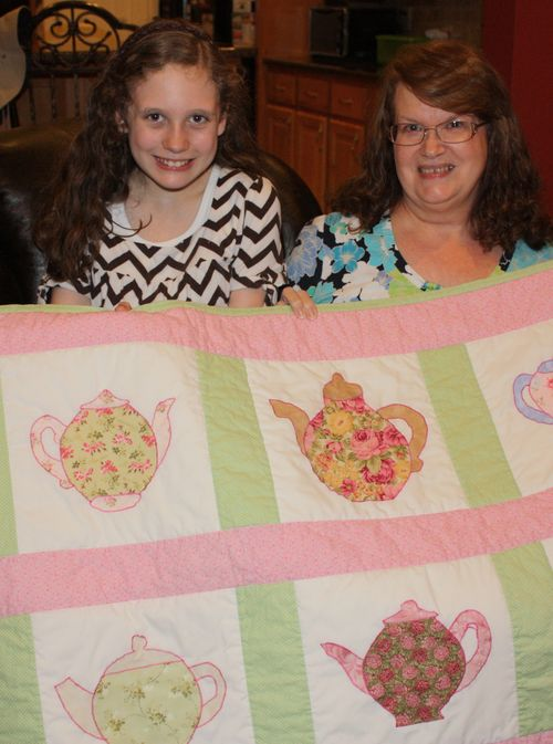 Olivia and Grandmother