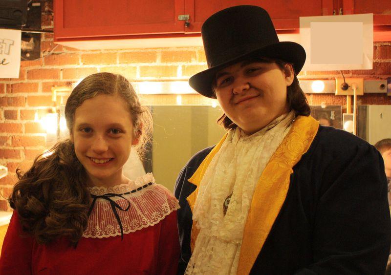 Olivia and Bram