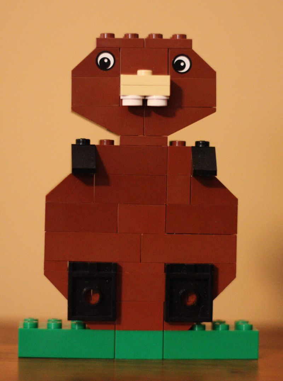 Lego groundhog