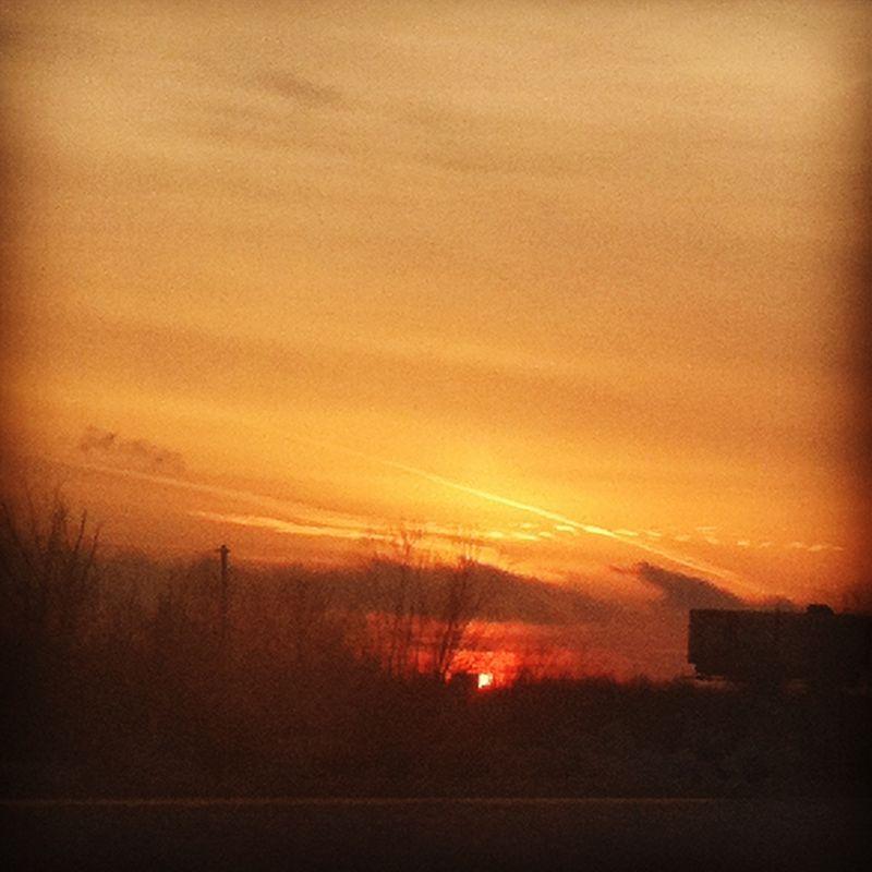 LR sunset