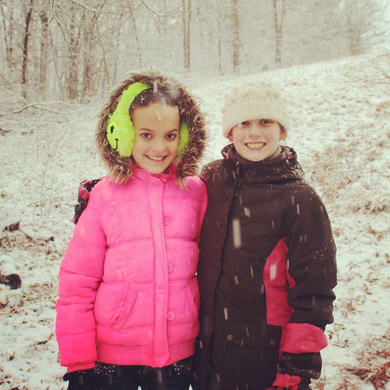Madisyn and Olivia