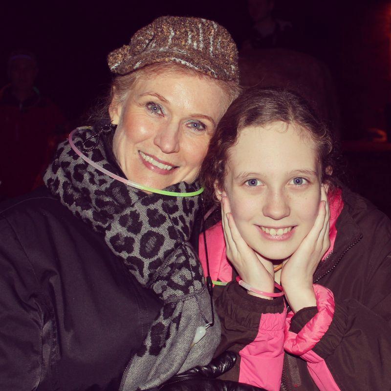Grandma and olivia