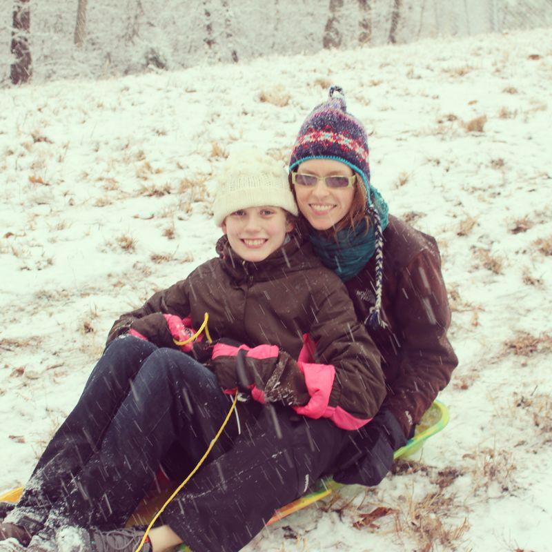 Olivia and Allison