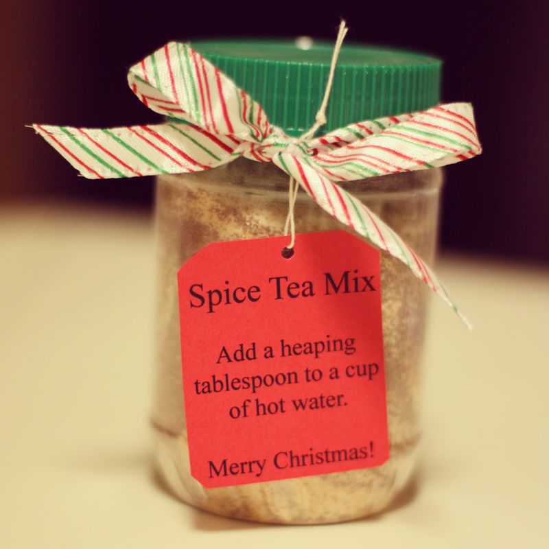 Spice tea mix gift