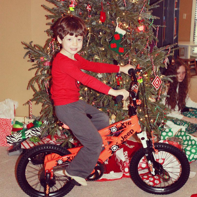 Isaac's bike