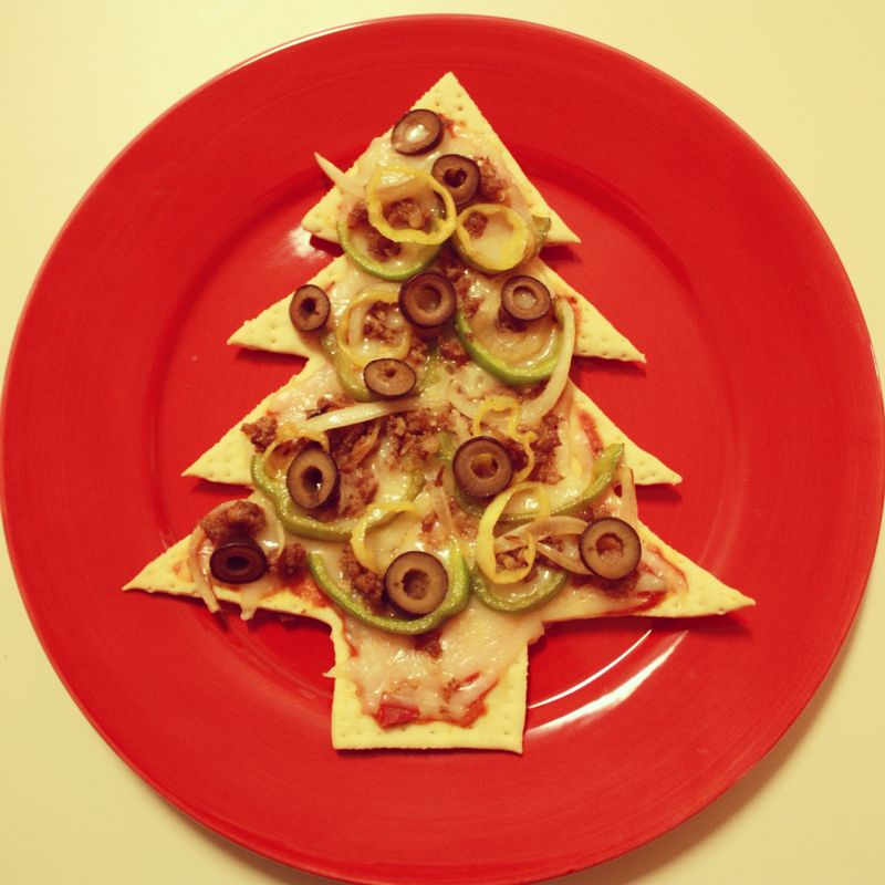 Tree pizza