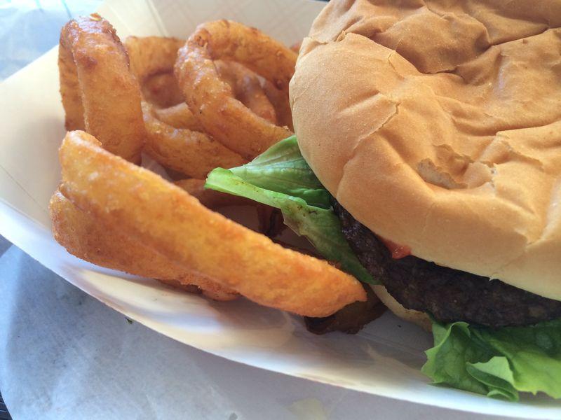 Barnett's burger