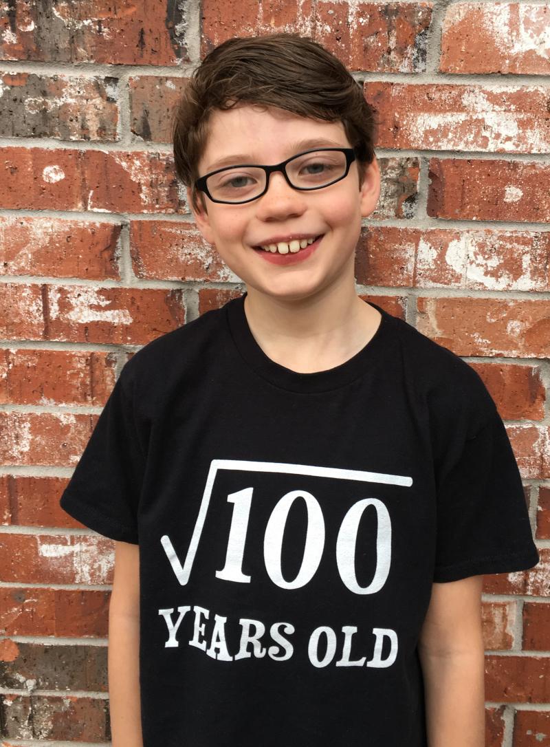 Isaac 100 tshirt
