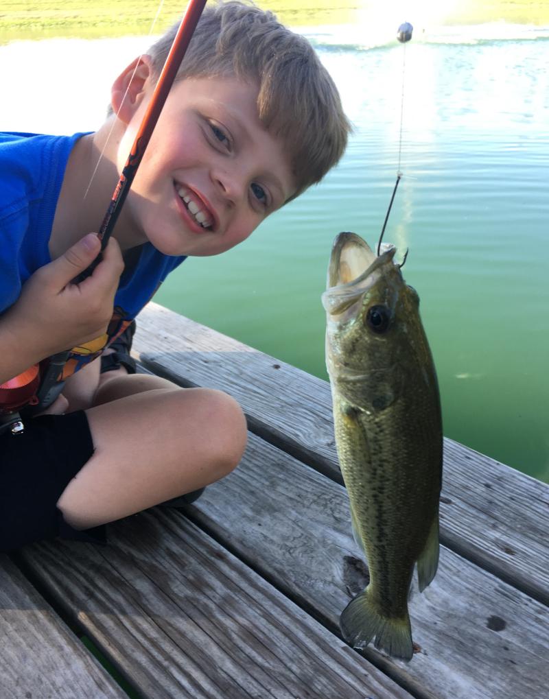 Joshua fishing