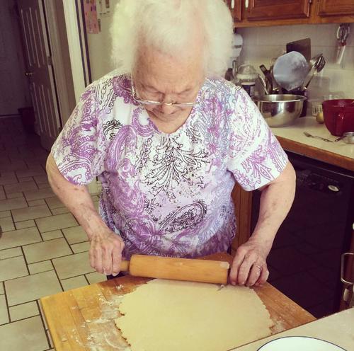 Grandma pie square