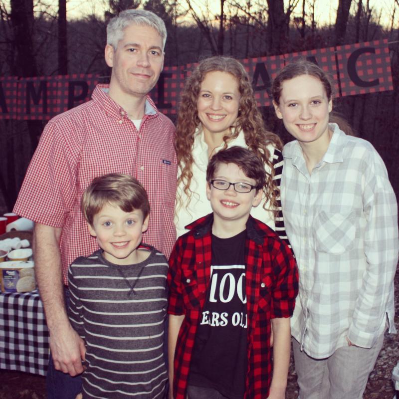 Isaac birthday family
