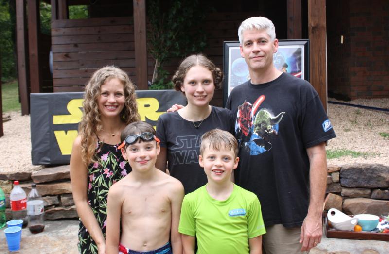 Joshua birthday family