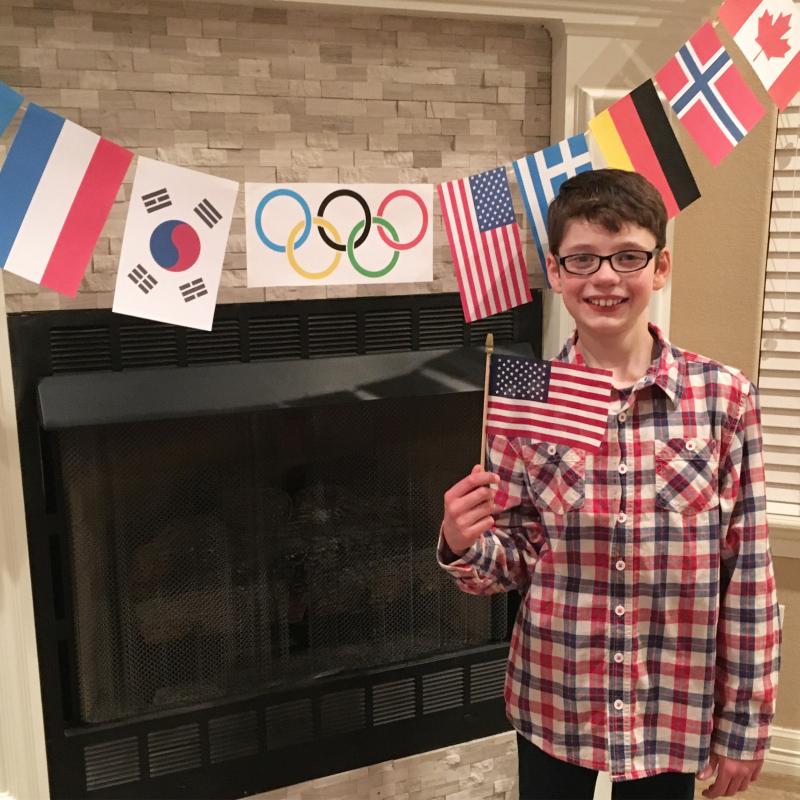 Olympic pie
