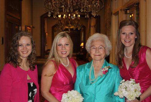 Ashley, Sarah, Grandma, Lacey