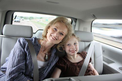 Mom & Olivia in rental