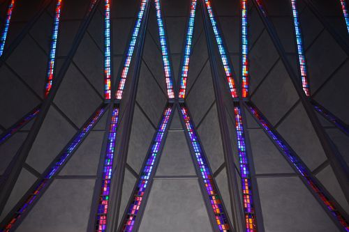 Stained Glass in Chapel
