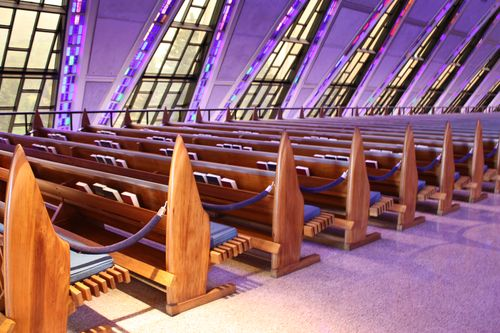 Windows and Pews