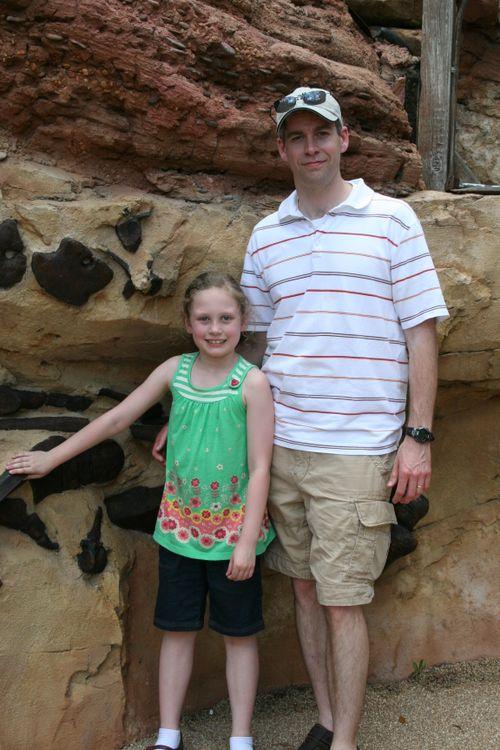 Michael & Olivia in Dinoland Maze