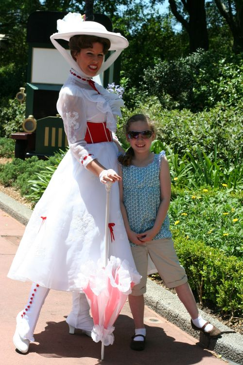 Olivia and Mary Poppins