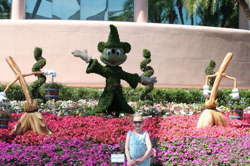 Olivia and Mickey