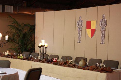 Medieval Feast Head Table