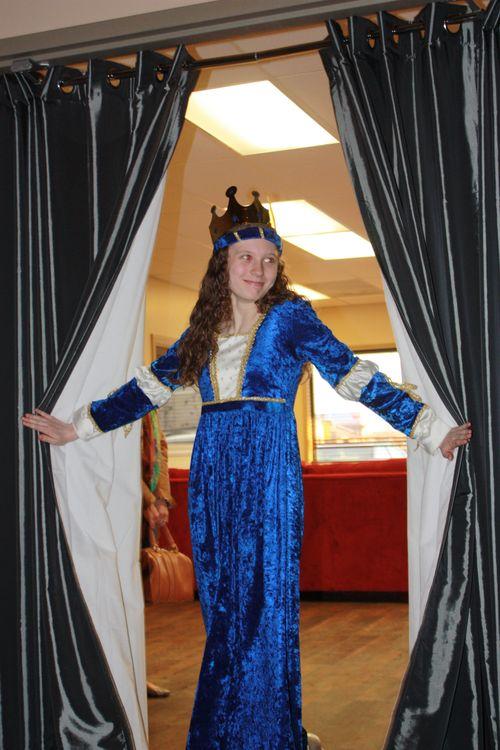 Hear ye! Hear ye!  Announcing Lady Olivia