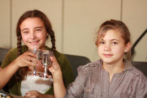 Drinking Sparkling Cider