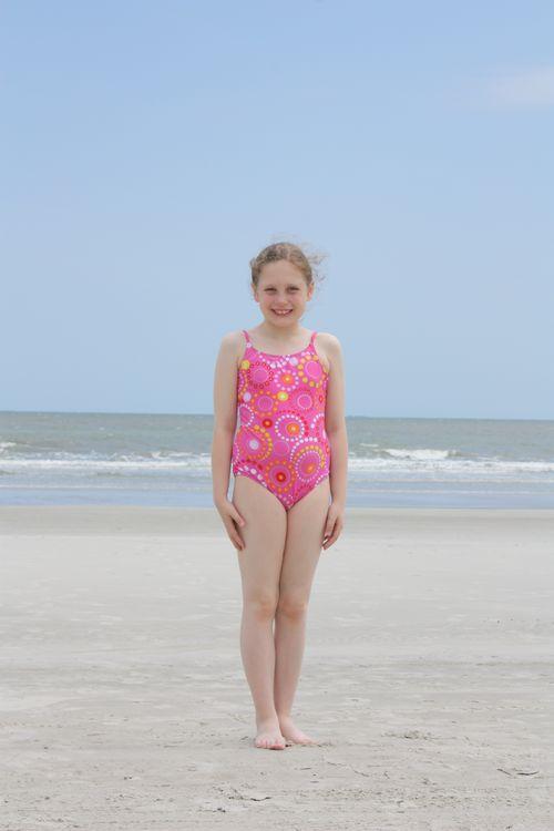 Olivia in swimsuit