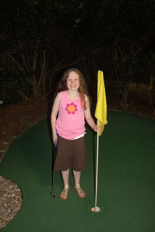 Olivia's hole in one