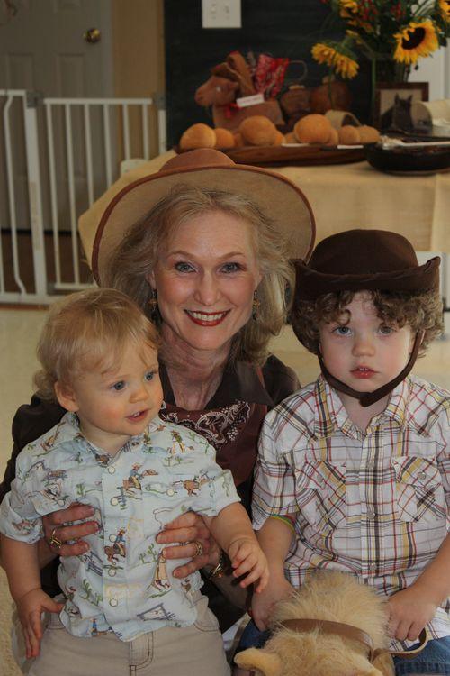 Grandma & her cowboys